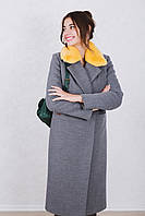 Пальто зимнее женское кашемировое Raslov