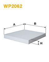 Фильтр салонный WIX WP2062 (K1303)