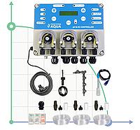 Гидропонная система для растениеводства з контролем  pH&EC Controller