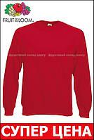 Мужской Классический Реглан Красный Fruit Of The Loom 62-216-40 S