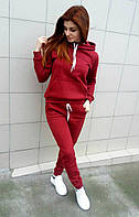 Спортивный костюм 3-х нитка бордовый
