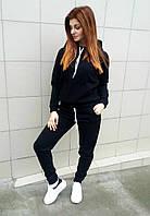 Спортивный костюм 3-х нитка черный