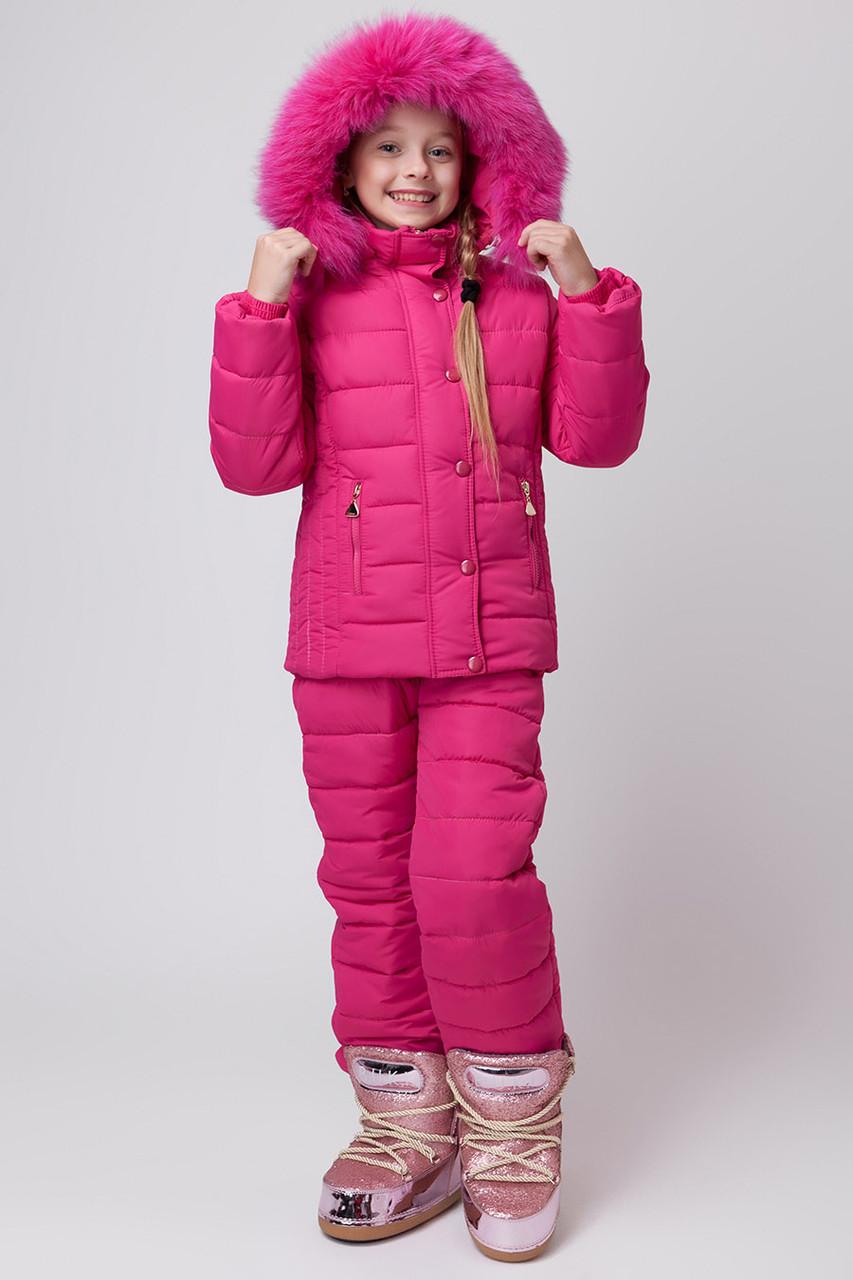 Зимний комбинезон для девочки