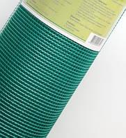Сетка фасадная (5Х5х50) зеленая 125 г/кв.м.+