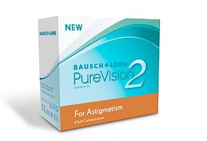 Торические контактные линзы Bausch and Lomb PureVision 2 Toric
