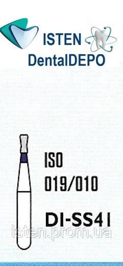 Боры DI-SS41 - синий двойной обратный конус, очень короткая ножка, MANI (3 шт.)