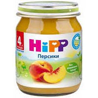 """4202 HIPP Фруктове пюре """"Персики"""" 125"""