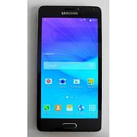 Функциональный мобильный телефон Samsung Galaxy Note 4 (Android, экран 5.5). Хорошее качество. Код: КГ2035