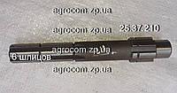 Валик КПП 25.37.210 (Т-25, Д-21) дополнительной передачи z=6
