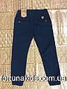Котоновые брюки на флисе для мальчиков GRACE 98-128 р.р, фото 3