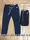 Котоновые брюки на флисе для мальчиков GRACE 98-128 р.р, фото 2
