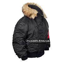 Куртка зимняя Chameleon N-2B Black, фото 1