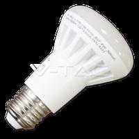Св/діодна лампа V-TAC 8Вт smd Е27 4500К R63 термопластик
