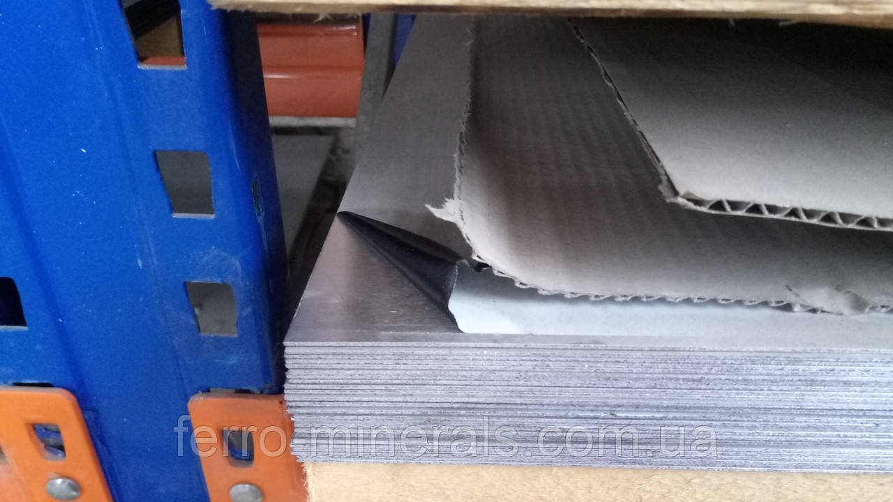 Нержавеющий лист 1,2мм, 4N+PE AISI 430 / 12X17