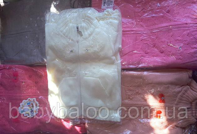 Кофта детская бантики (от 1 до 3 лет), фото 2