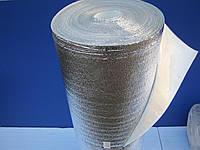Полиэтилен вспененный 2мм фольгированный с липким слоем