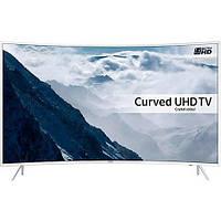 Телевизор Samsung UE49KU6512 UltraHD+T2 Изогнутый экран, Белый цвет корпуса