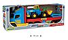 Игрушечный эвакуатор Super Truck с трактором (36520), фото 8