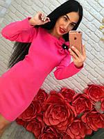 Женское платье с цветком DB-4485