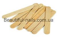 Шпатель деревянный для нанесения воска 50 шт/уп.