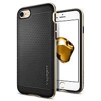 Чохол SGP Spigen Neo Hybrid Carbon iPhone 7/8 Gold