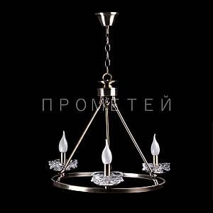 "Люстра ""свічка"" на 3 лампочки. P5-N2067/3/AB"