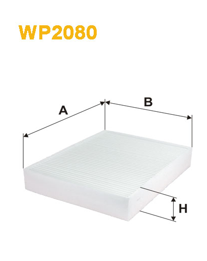 Фильтр салонный WIX WP2080 (K1331)
