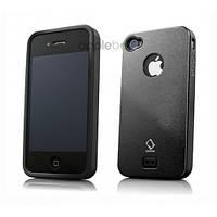 Чохол CapDase Alumor Metal Case iPhone 4/4S Black