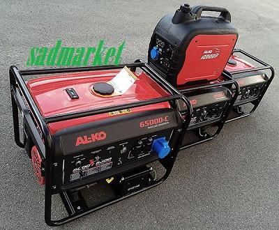 Электростанции и генераторы бензиновые AL-KO