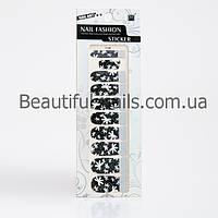 Атр стікери для дизайну нігтів 12 шт в упаковці, фото 1