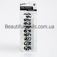 Атр стикеры для дизайна ногтей 12 шт в упаковке, фото 1