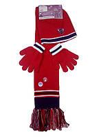 Комплект для девочек (шапка+шарф+перчатки), Lupilu, размер 110/116-122/28, арт. Л-620