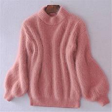 """Шикарный, женский свитер """"Вязка акрил+ангора, широкие рукава""""  фабричный Китай РАЗНЫЕ ЦВЕТА, фото 3"""