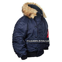 Куртка зимняя Chameleon N-2B Blue, фото 1
