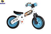Велосипед (беговел , велобег) Bellelli B-Bip обучающий 2-5лет, пластмассовый, белый с голубыми колёсами