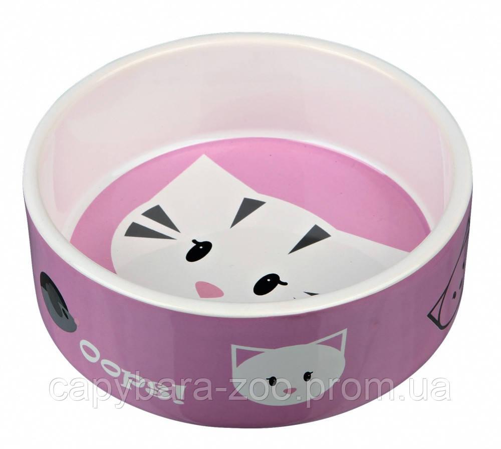 Trixie (Трикси) Mimi Керамическая миска для кошек 300 мл в ассортименте - Интернет-магазин КАПИБАРА в Киеве