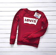 Женский свитшот Levi's 4 цвета в наличии (Реплика AAA+) красный