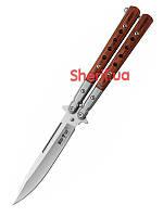 Нож бабочка складной Grand Way Балисонг 1029 KАС