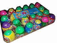 Яйцо пластиковое Magic Egg с драже и тату 24 шт