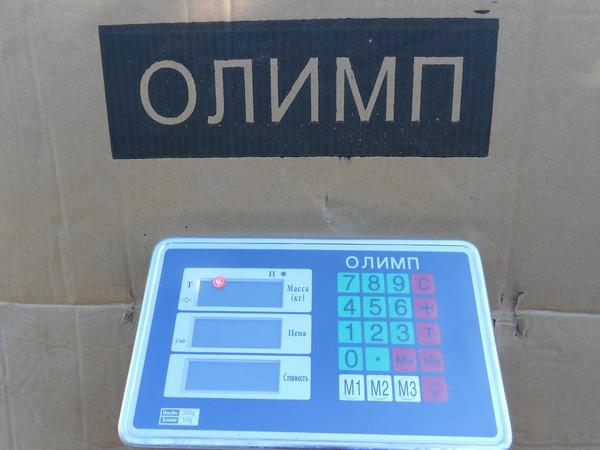Товарные весы усиленные Олимп 102B-12_300 кг (400х500мм)