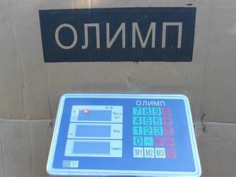 Товарні ваги посилені Олімп 102B-12_300 кг (400х500мм)