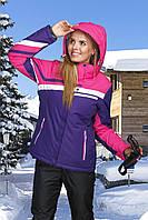 Женская лыжная куртка фиолет