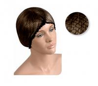 Сеточка для волос Eurostil ,черная (уп.12 шт)