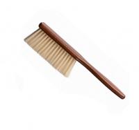 Сметка для волос Eurostil с деревянной ручкой