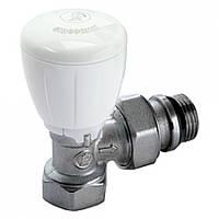 """Кран микрометрический угловой для радиатора отопления 1/2"""" Giacomini R421X133"""