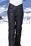 Женские лыжные брюки черные, фото 1
