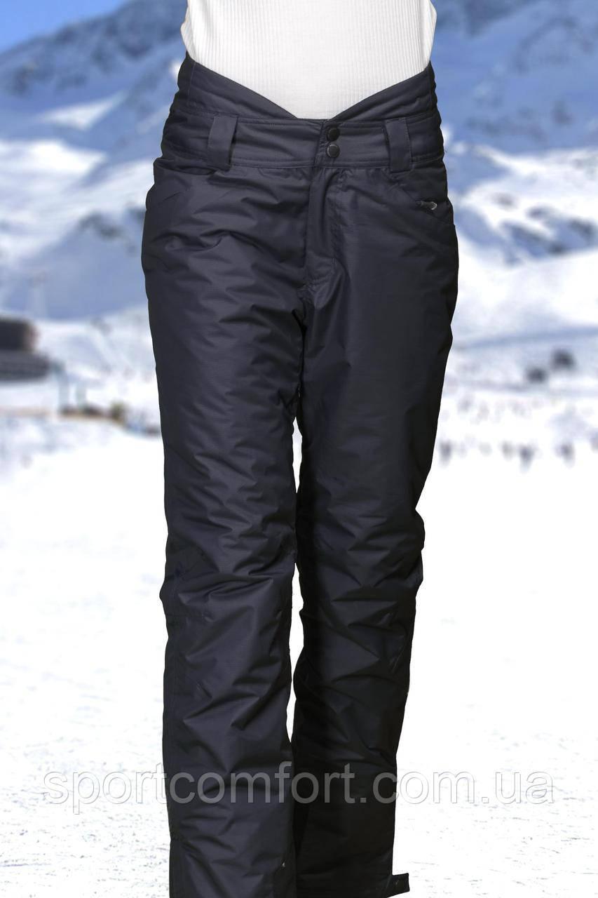 Женские лыжные брюки черные