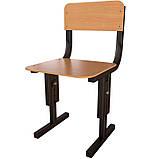 Стільці для дитячих садків регульовані по висоті Кадет-М. Дитячі стільці для садочків, фото 4