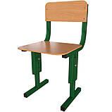 Стільці для дитячих садків регульовані по висоті Кадет-М. Дитячі стільці для садочків, фото 3