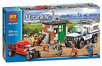 """Конструктор Bela 10419 (аналог Lego City 60448) """"Полицейский отряд с собакой"""", 250 деталей"""